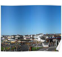 Pier 39, San Francisco, California Poster