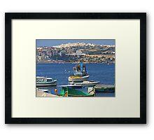 Saint Paul's Bay Framed Print