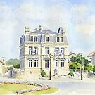 The Mairie at Montbron, France by ian osborne