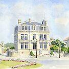 The Mairie at Montbron, France by ian osborne