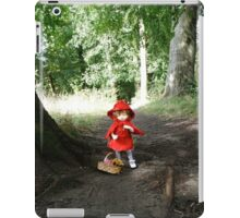 Red Riding Ante iPad Case/Skin