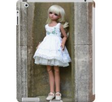 Emily on pedestal iPad Case/Skin