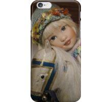 Avery op hobbelpaard iPhone Case/Skin