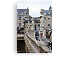 Roman Statues, Bath, UK Canvas Print