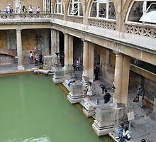 The Roman Baths, Bath, UK by James J. Ravenel, III