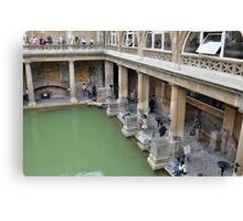 The Roman Baths, Bath, UK Canvas Print