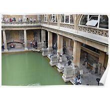 The Roman Baths, Bath, UK Poster