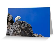 On Top Of The World Greeting Card