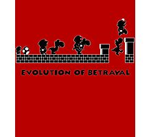 Evolution of Betrayal Photographic Print