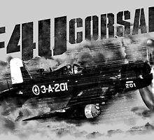 F4U CORSAIR by deathdagger