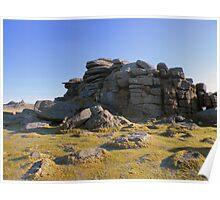 Dartmoor: Middle Staple Tor Poster