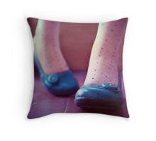 say my stupid name Throw Pillow