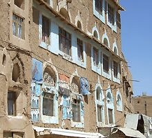 Symbols on the wall (26) - a house in Amran by Marjolein Katsma