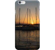 Syracuse Harbour Sunset iPhone Case/Skin