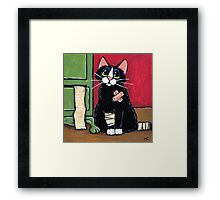 Been in the Wars Framed Print