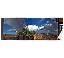 Backyard Panoramic Experience Poster