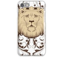 sad lion king design t-shirt iPhone Case/Skin