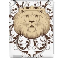 sad lion king design t-shirt iPad Case/Skin