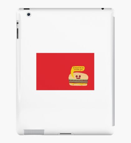 Burger ;) iPad Case/Skin