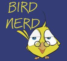 Bird Nerd Funny Ornithology T Shirt by bitsnbobs
