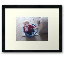 Cute picture Framed Print