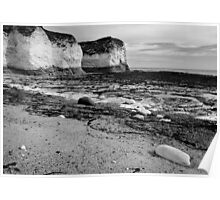 Flamborough Head Coastline Poster