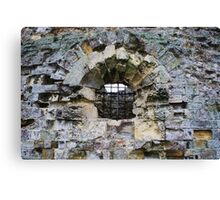 Camber Castle - decay Canvas Print