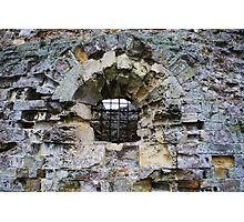 Camber Castle - decay Photographic Print