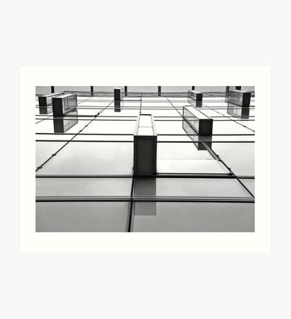 Façade, Paris Art Print