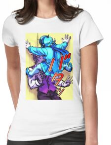 Cicada block Womens Fitted T-Shirt