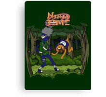 Ninja Time Canvas Print