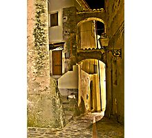 Streets of an Italian Village Photographic Print