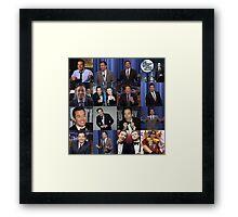 Jimmy Fallon Collage Framed Print