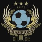 Manchester City Champions by Red23UK