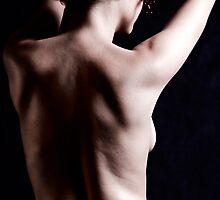 Back of a beautiful woman by Daniel Larrinaga