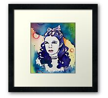 Miss Garland Framed Print