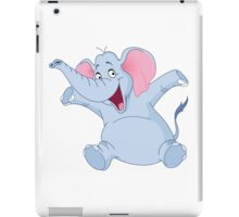 happy elephant design t-shirt iPad Case/Skin
