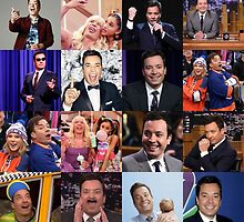 Jimmy Fallon Collage #2 by Emmycap