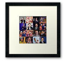 Jimmy Fallon Collage #2 Framed Print