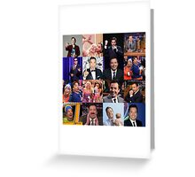 Jimmy Fallon Collage #2 Greeting Card