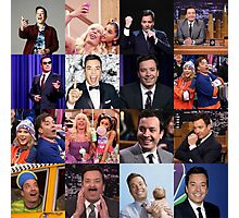 Jimmy Fallon Collage #2 Photographic Print
