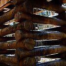 log pillar by Phillip M. Burrow