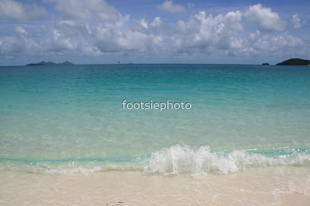 Whitehaven Beach by footsiephoto