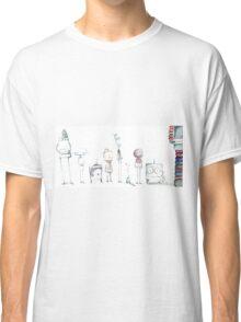 Robot Roll Call Classic T-Shirt