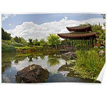 Japanese Garden - Hunter Valley Poster