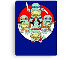 Ninja Squirtle Canvas Print
