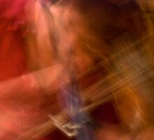 Hot Fiddling In Motion by Dan Cahill
