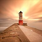 Berwick Lighthouse by Ian Parry