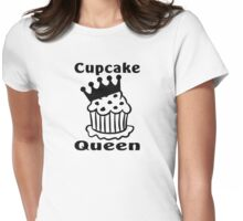 Cupcake queen Womens Fitted T-Shirt