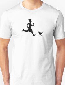 Run, chicken run ! Unisex T-Shirt